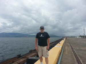 Daddy in Subic Bay