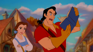 Gaston Can't Read