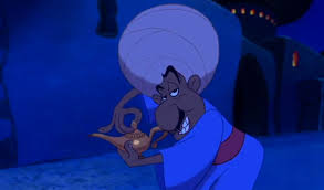Merchant in Aladdin