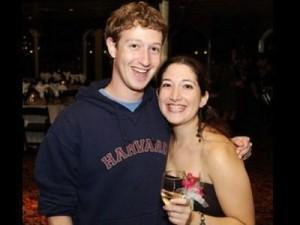 Randi and Mark Zuckerberg