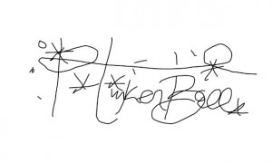Tinker Bell Digital Signature