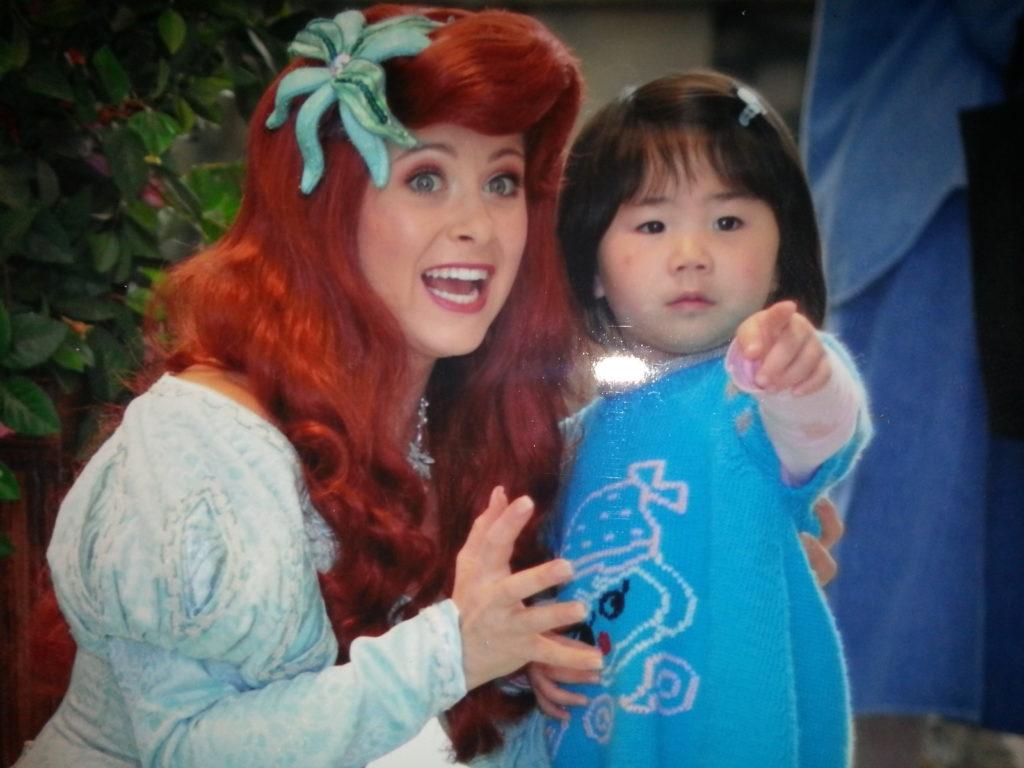 Ariel has a Wonder Personality