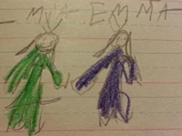 Mia and Emma
