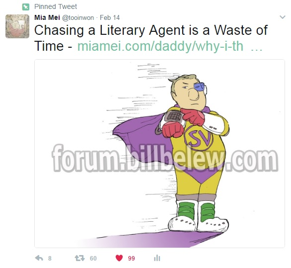 Wasting Time Chasing Literary Agents