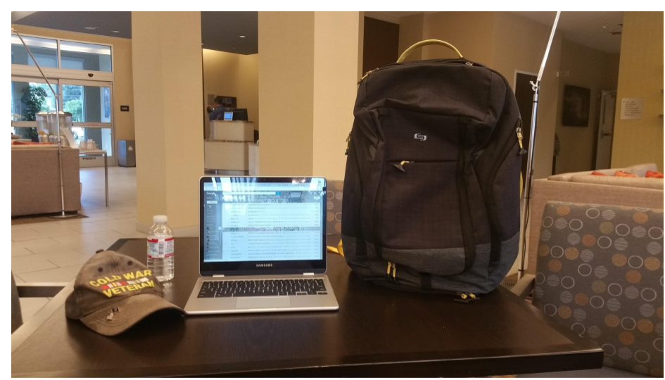 Solo New York EVERYDAY MAX BACKPACK Velocity Collection – Review by Mia and Bill