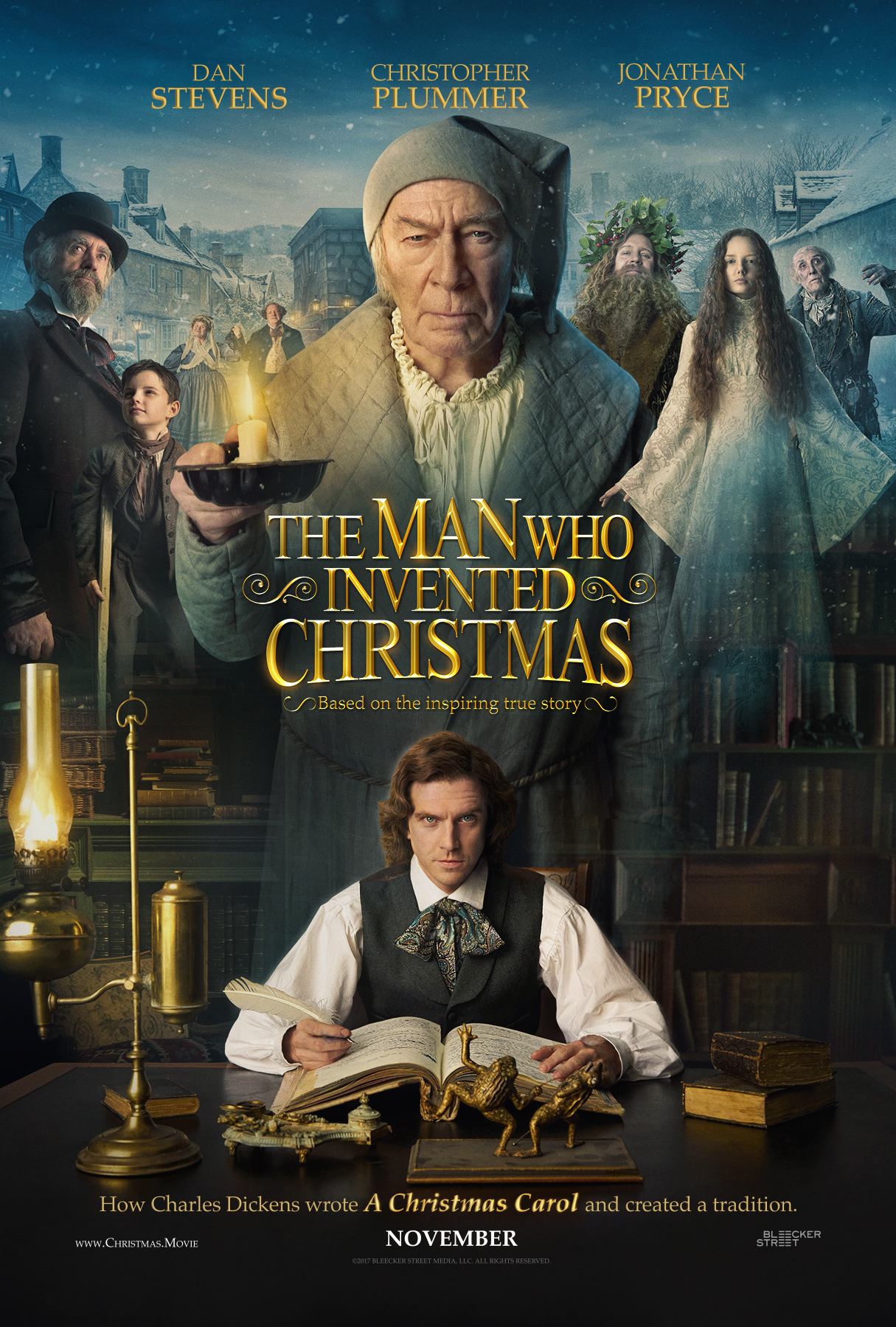 The Man Who Invented Christmas – Official Trailer – Releases Nov 22