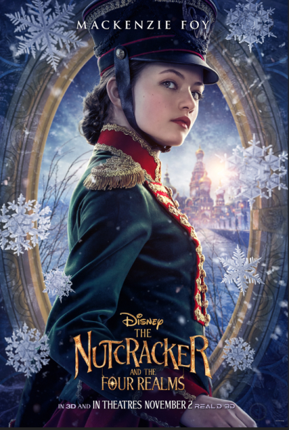 THE NUTCRACKER AND THE FOUR REALMS – Trailer – November 2 Release
