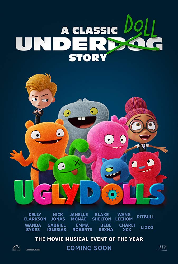 Learning What Matters Most – UGLYDOLLS Release Date – Trailer – Synopsis